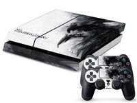 Protective Vinly Decal Skin/Stickers Wrap For PS4 Console+ 2 Controllers-331 Winter is comming
