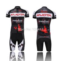 Hot Sale!!! 2014 KUOTA short sleeve cycling clothes short sleeve bicycle bike riding short jerseys+pants