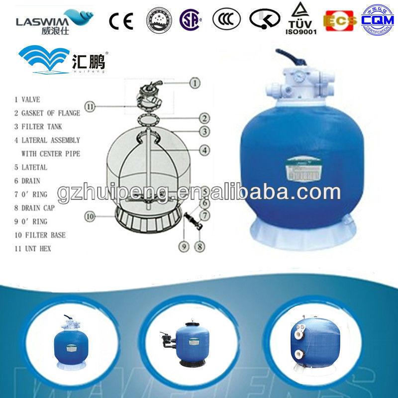 OLYMPIC QUALIFIED LASWIM brand 26YEARS DIA400 quartz sand filter(China (Mainland))