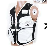 Free Shipping! 1Pc Daiwa Fishing Clothes Outdoor Breathable Mesh Multi Pockets Fishing Vest
