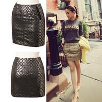 Women's Brand Fashion Casual Skirt Skirts for Women Brand Short pencil slim skirt Unique Design High quality  RDZA-119