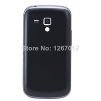 Free shipping Black Battery door housing cover case +Middle Frame bezel For Samsung Galaxy Trend Duos S7562
