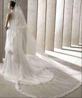 Wedding Accessories 2014 Best Selling Two Meters Tulle Bridal Veil