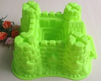 Free shipping 1PCS Castle shape / cake / Cookie Mold / die manual work B096
