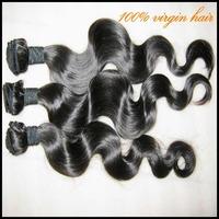 "4/5 pcs Real good hair 7A bohemian virgin body wavy hair weaves 4 bundles nice texture,12""-30"" best weave distributor !"