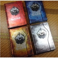 2014 Gift New Vintage Harry Potter notebook Hardcover notepad 4 styles Diary book Free shipping Wholesale