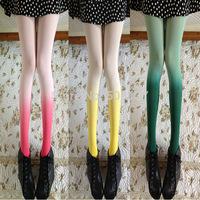 Spring, Autumn Women's 100D Gradient Silk Stocking SH46