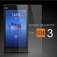 3PCS/Lot High Quality Original Xiaomi 3 M3 Mi3 Transparent Clear Screen Film Protector Guard For Xiaomi 3 M3 Mi3