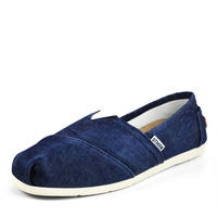 2014 Men's Fashion Breathable Canvas Surface Leisurely style Slip On Flat Heel Canvas Shoes Casual Shoes US Size 7-9 D319