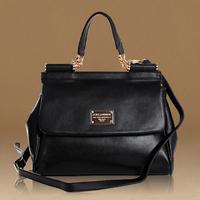 Guaranteed 100% women handbag Genuine Leather women messenger bags famous brand leather handbags designers brand new 2014