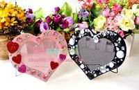 Jewelry rack Monopoly / European creative color stone heart-shaped jewelry rack / earring rack / earring rack / T3