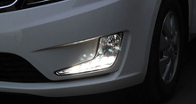 Free shipping High quality LED Daytime running lights front Fog lamp Fog Lights For 2011 2012