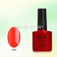 Free shipping(12pcs/lot) 100% EU quality soak-off nail gel uv&led gel nail polish,manufacturer price