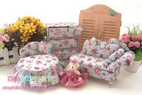 Teddy Bear House garden furniture fabric mini denim exclusive custom jewelry storage box