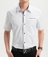2014 new men's cotton shirts short sleeve shirts Multicolor  more shirts/M-XXXL  (DC0051)