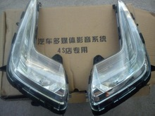 Free shipping 2011 2012 KIA K2 Rio original factory High quality front Fog lamp Fog Lights