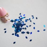 GD24-5 Free Shipping Wholesale 100g/bag Tiny Dark Blue Diamond Glitter Nice Nail art Glitter Pieces Nail art decoration