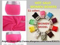 4 pcs/Lot HOT Sale Better Quality WOMEN's Boxer Shorts Girl Boxers Underwear Women Sexy Panties For Women