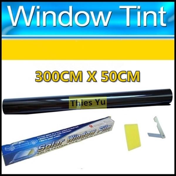 Black 15% Solar Gard Smoke Premium Car Window Tint Film Sheet Tinting Roll 50CM*300CM(China (Mainland))