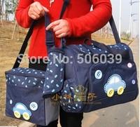 free shipping car design dark blue nappy bag multifunction diaper bag mother bags sets mommy bag