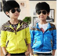 Retail 2014 Spring Autumn Children's Coat boys Spiderman embroidered hoodie jackets Kids cartoon Clothes baby outerwear
