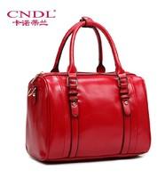 Kano Dilan early spring 2014 new handbags vintage European and American minimalist shoulder handbag Boston