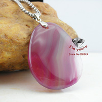 MN12 New arrival Natural stone agate pendant Freeshipping