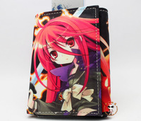 HOT SALE!Japan anime Shakugan no Shana Wallet Cartoon canvas Purse wholesale birthday gift