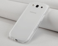New Transparent  Soft TPU Back Case For Samsung Galaxy S3 i9300 Protective Cover Cellphone S3 Case Free Shipping