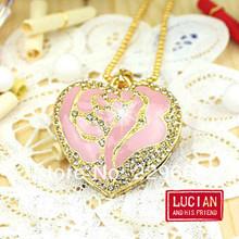 cheap crystal heart usb