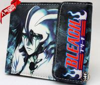 NEW!Japan anime BLEACH Ulquiorra cifer Wallet Cartoon Purse gift for boy