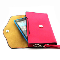 Luxury retro color flip phone bags wallet leather wallet for Nokia Lumia 900 Free Shipping