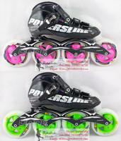 Original powerslide C6 speed skating shoes Professional  adult child roller skates with matter inline skates wheels