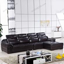 wholesale black leather sofa