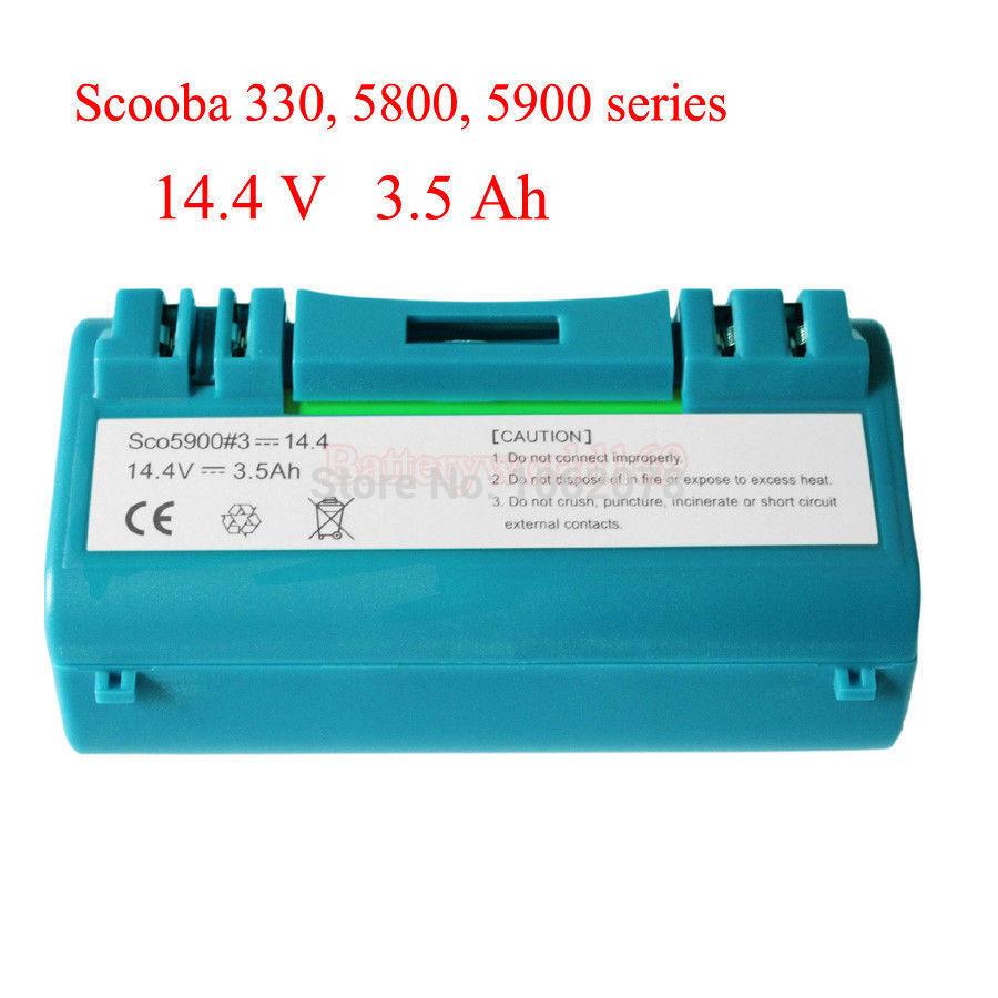 Battery for iRobot Scooba 330 340 34001 350 380 5800 5900 6000 vacuum cleaner APS 14904 SP385-BAT SP5832 34001(China (Mainland))
