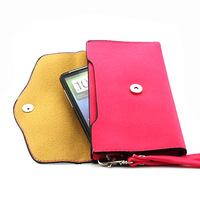 Luxury retro color flip phone bags wallet leather wallet for HTC Desire HD G10 Free Shipping