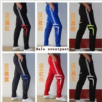 Football pants leg trousers closing leg soccer clothes football training pants male sports pants