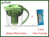 Hot sale New Model PTX-WP35N 3.5 L Alkaline Water Pitcher, Alkaline Water Jug with 1 pcs filter cartridge, 4 Colors Available