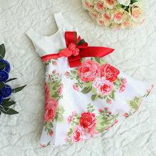 silk flower girl dress promotion