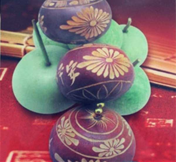 6pcs/pack seeds Bottle Gourd Can be painting on it Vegetable seeds Free shipping(China (Mainland))