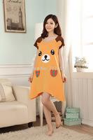 women hot summer nightgown for sleeping