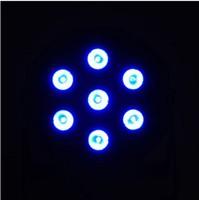 7 X 10W LED DJ Par Light 70W 4in1 RGBW PAR64 DMX Disco Club Stage Lighting