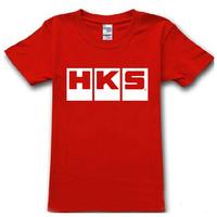 2015 summer famous auto brand hks T Shirt cotton auto t-shirt man top tee casual man short sleeve plus size