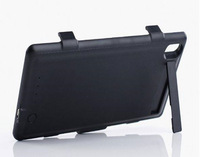 With Retail Package for Sony Xperia Z2 3500mah External Rechargeable Backup Battery Charger Case Cover