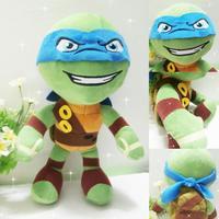 New Original Teenage Mutant Ninja Turtles Leonardo Plush toy 30cm Free shipping