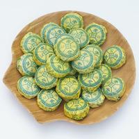 Limited 1 - 2 Years Bag Qs 180 Grams of Free Shipping Chinese Tea Pu 'er Chrysanthemum Mini Tuoripe(ripe Tea)