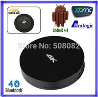 Measy B4A Amlogic S802 Quad Core TV Box Andriod 4.4 Kitkat OS Mali-450MP GPU 2GB RAM 8GB Flash Bluetooth 4K*2K 2.0GHz XBMC