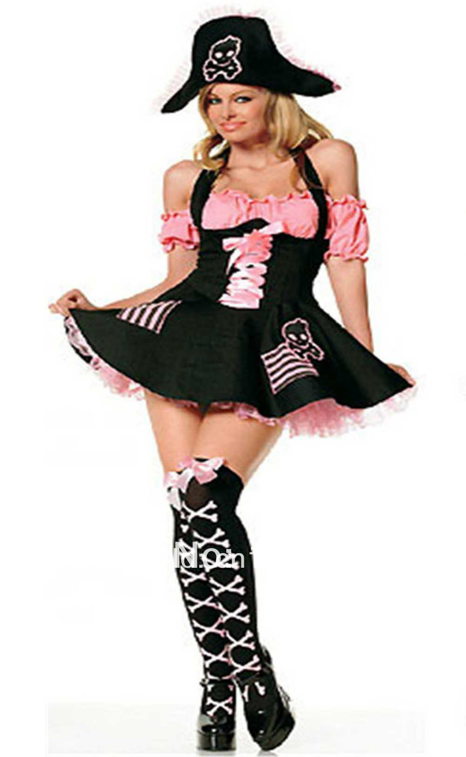 Pink Punk Pirate Costume Witch Costumes Pink Pirate