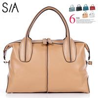 New 2014 Classic women handbag genuine leather fashion women's shoulder bag famous brand messenger bags women leather handbags