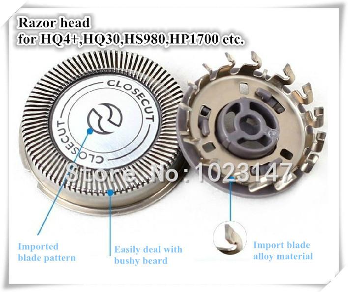 Free Shipping to Europe ! Razor head for Well selling Shaver HQ40 HQ41 HQ130 HQ46 HQ912 HQ4+HQ56etc. (1 set =1 knife net+1Blade)(China (Mainland))